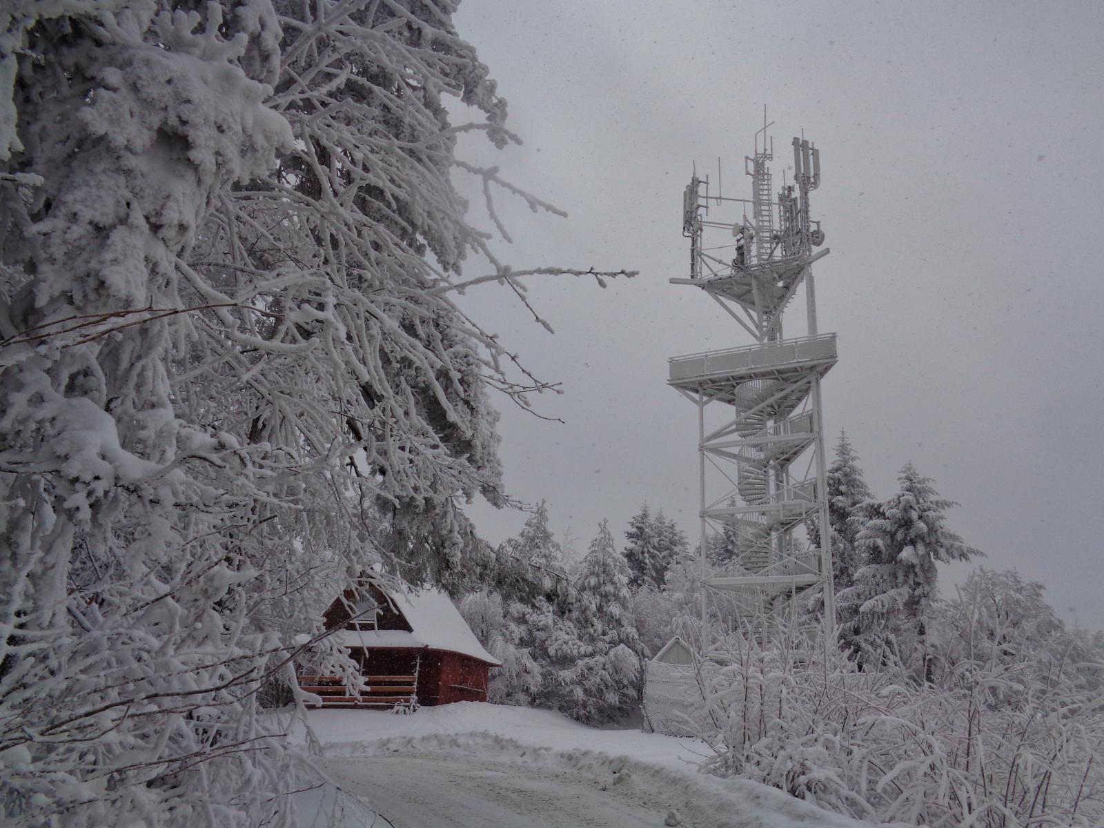 Góra Chełm, wieża widokowa