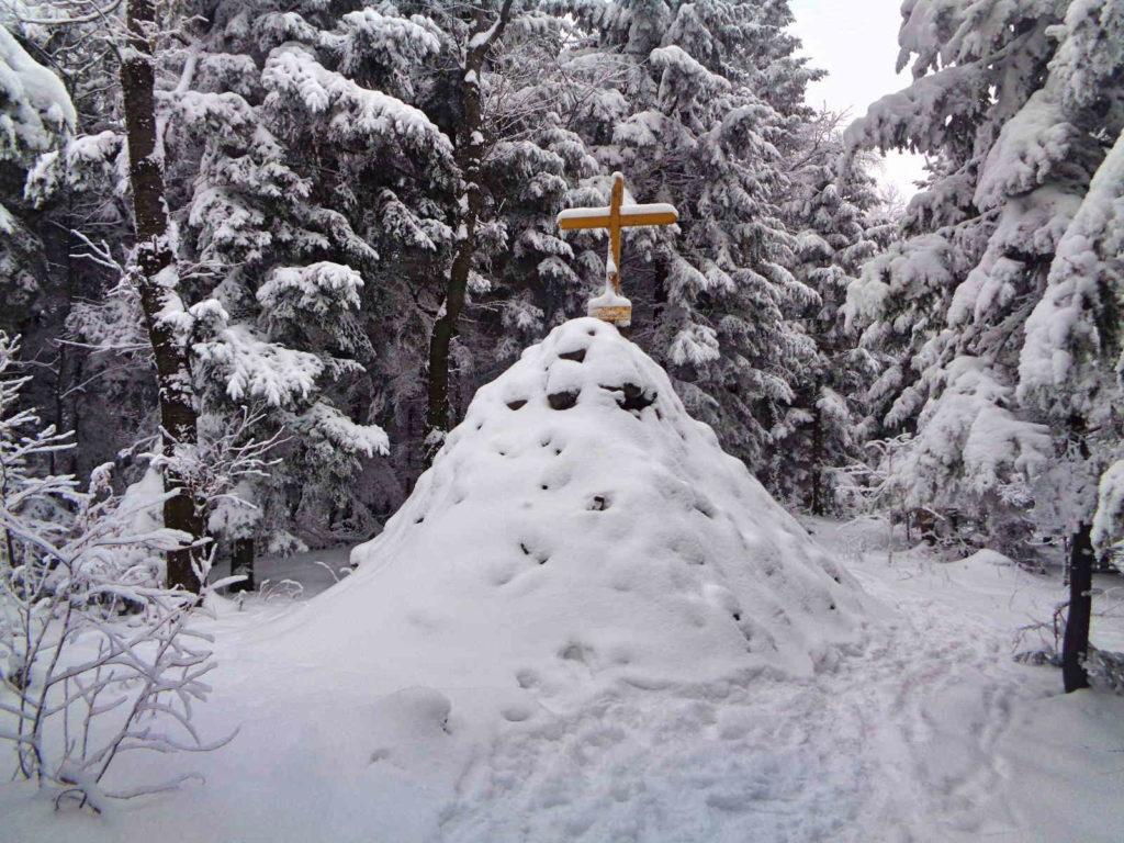Uklejna, Kopiec Jana Pawła II