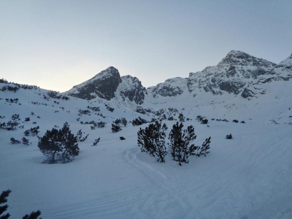 Dolina Zielona Gąsienicowa w zimie