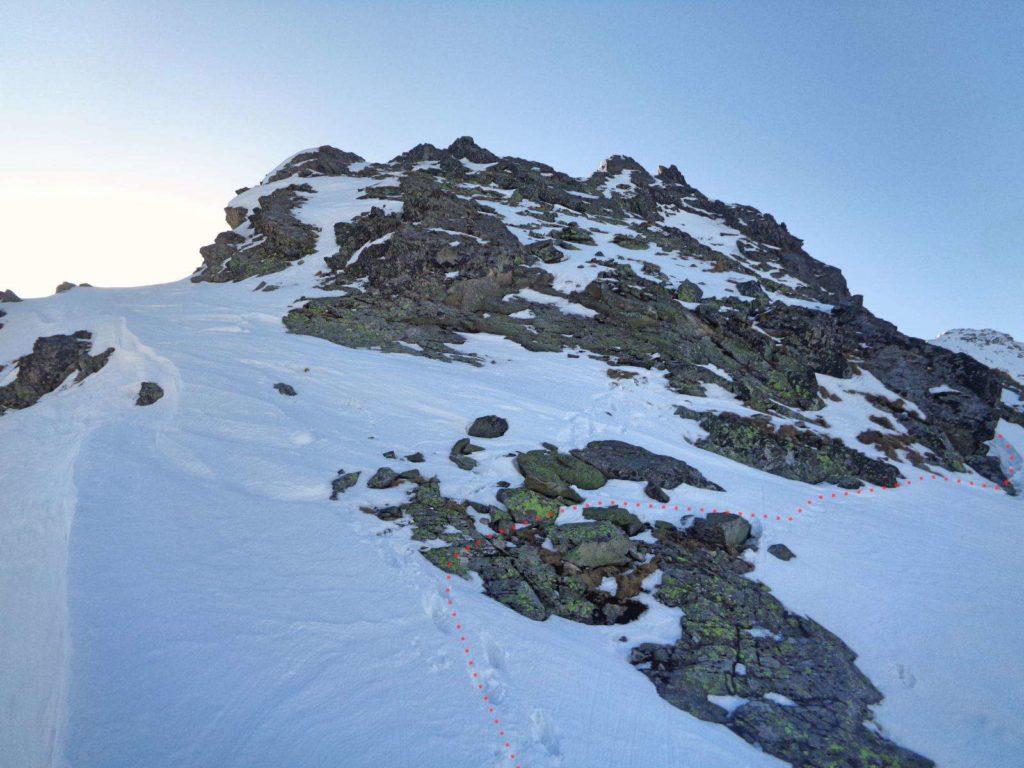 Kościelcowa Przełęcz w zimie
