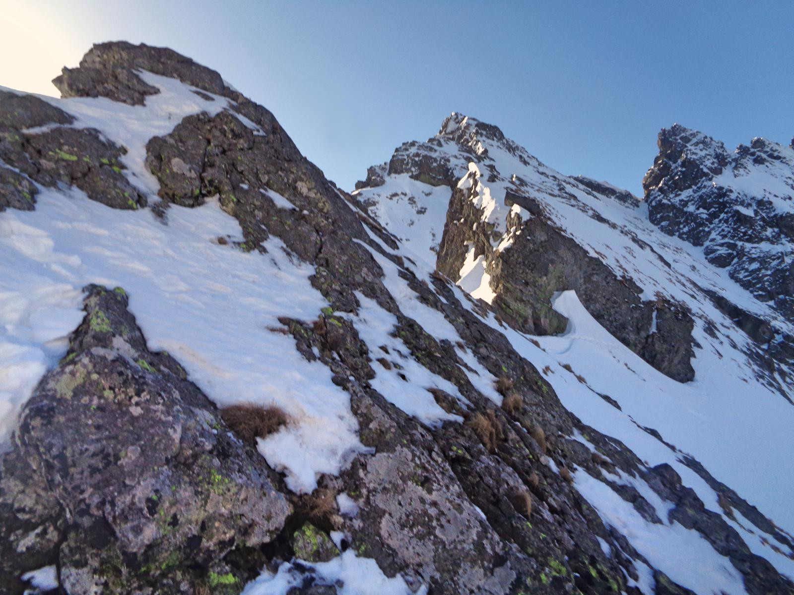 Mylna Przełęcz w zimie