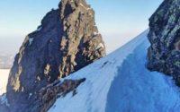 Zadni Kościelec i Mylna Przełęcz zimą, miniaturka