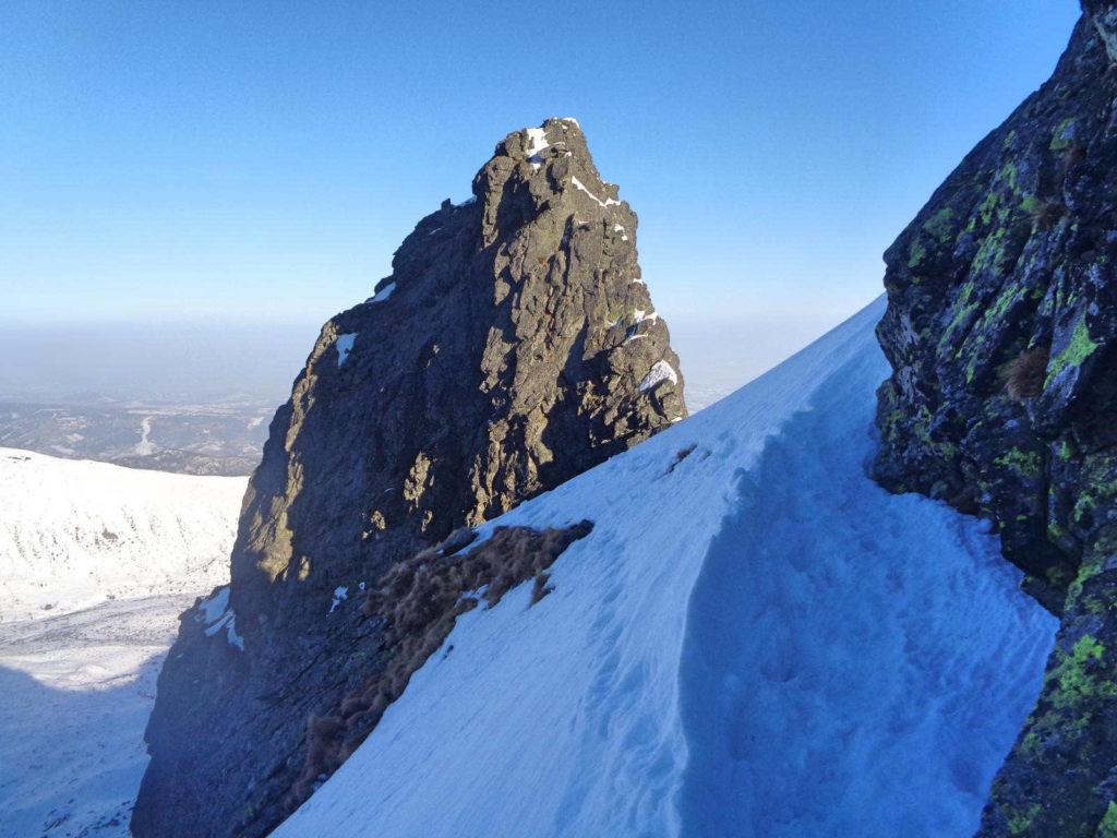 Zimowe wejście na Zadni Kościelec