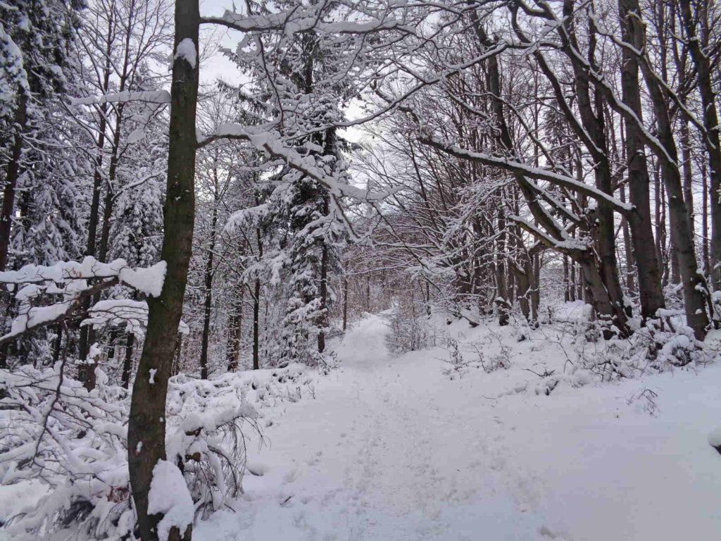 Czupel, wejście zimowe