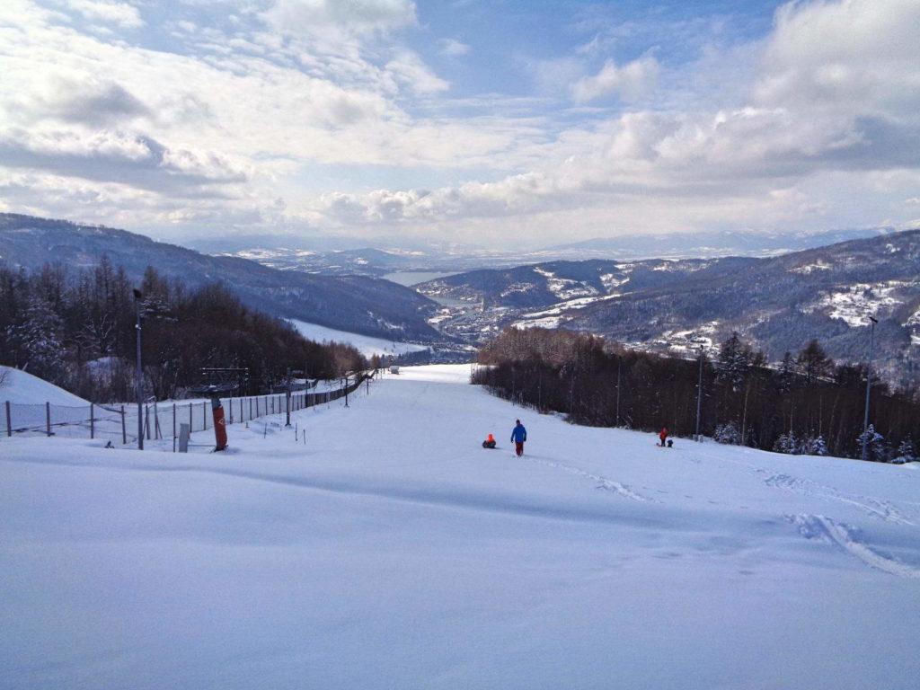 Góra Żar, stok narciarski