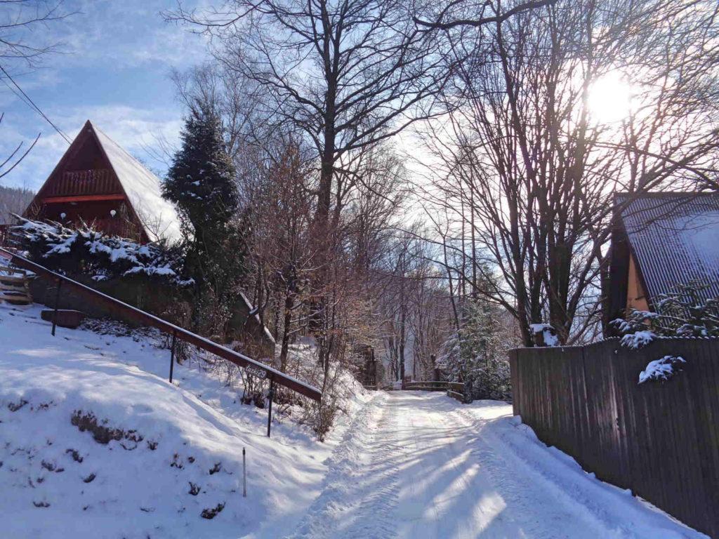 Góra Żar, szlak czerwony