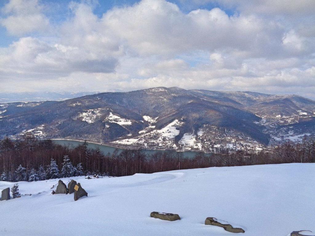 Góra Żar, widoki