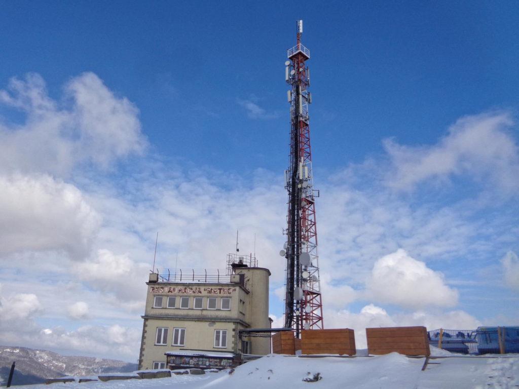 Góra Żar zimą