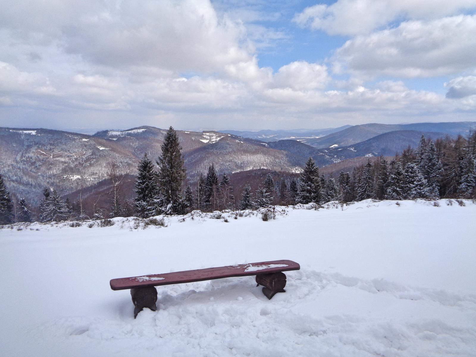Kiczera w zimie