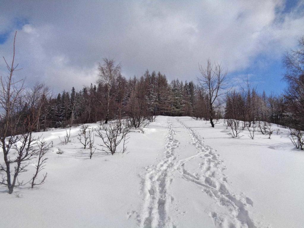 Kiczera, wejście zimą