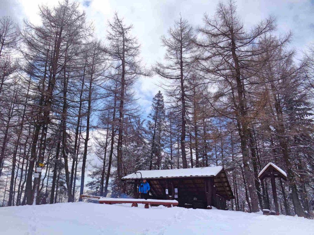 Kiczera zimą