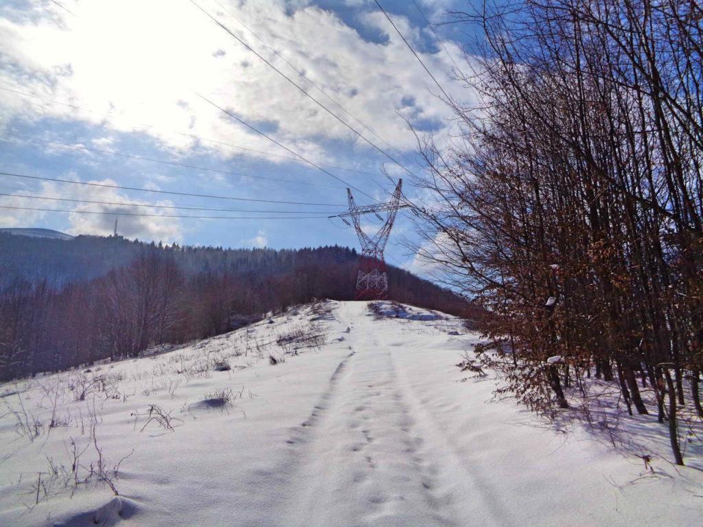 Zimowe wejście na Górę Żar