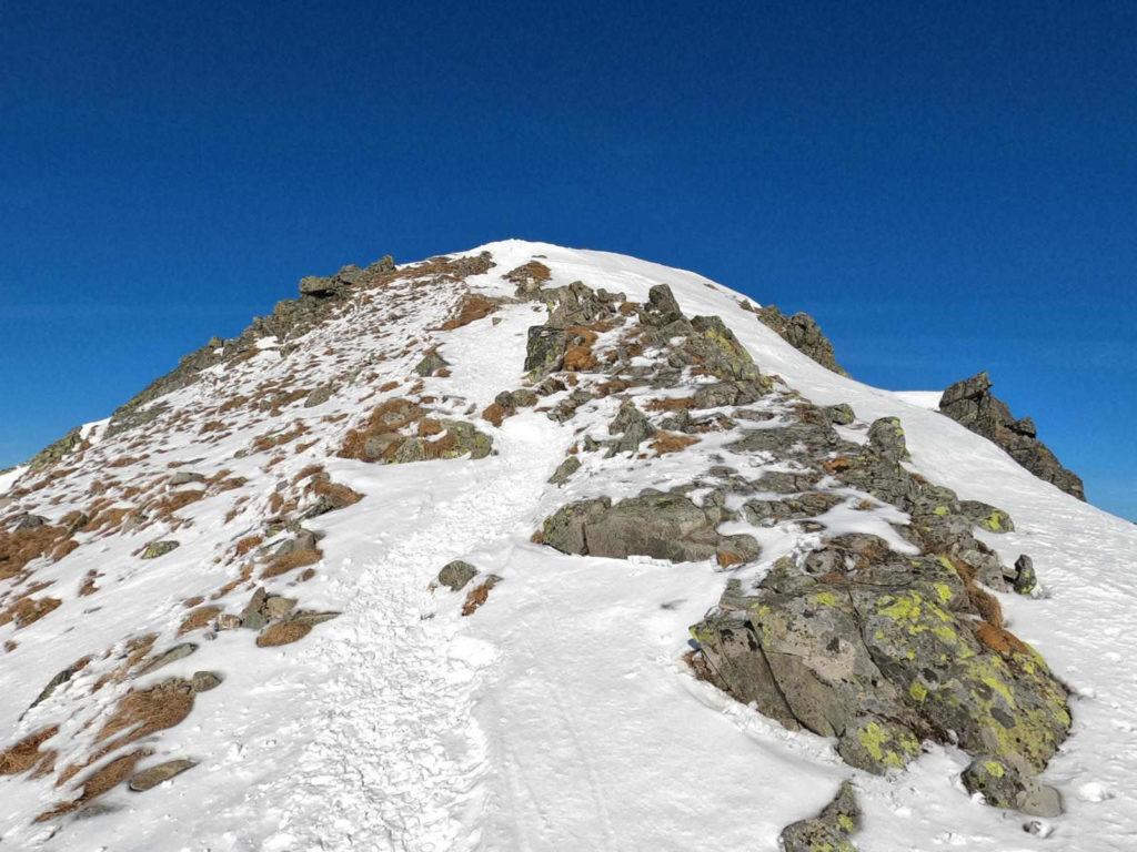 Pośredni Granat zimą