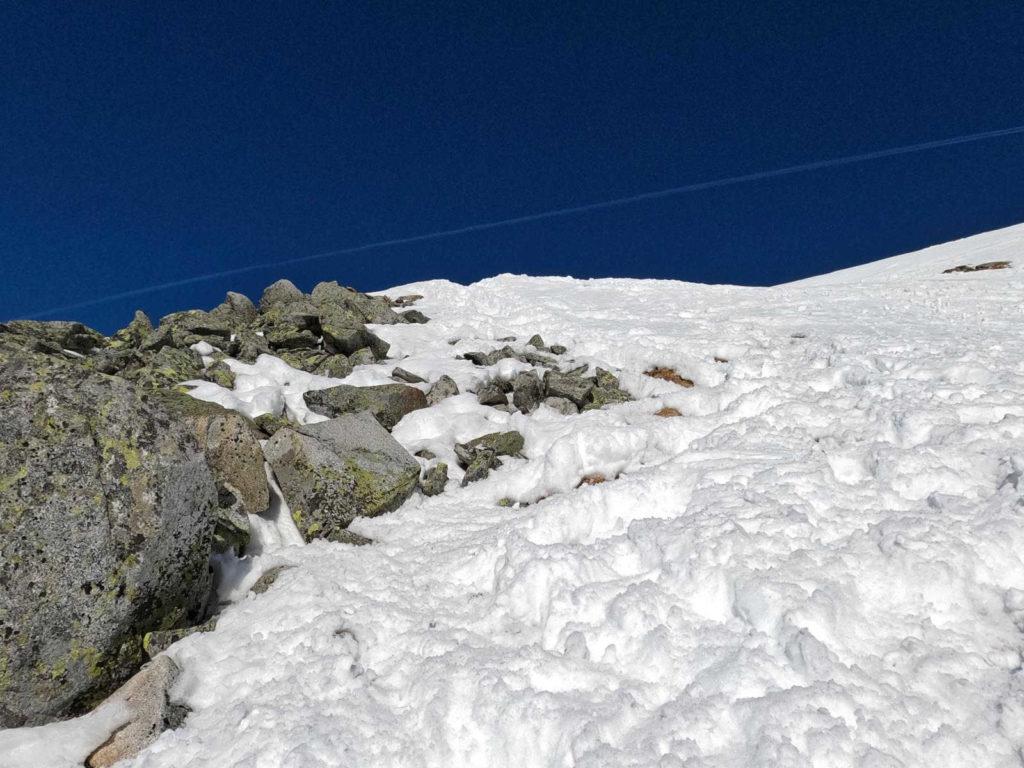 Wejście na Zadni Granat zimą