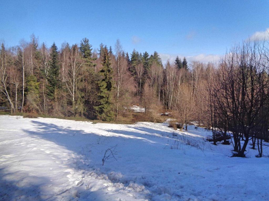 Lubomir, zejście szlakiem zielonym