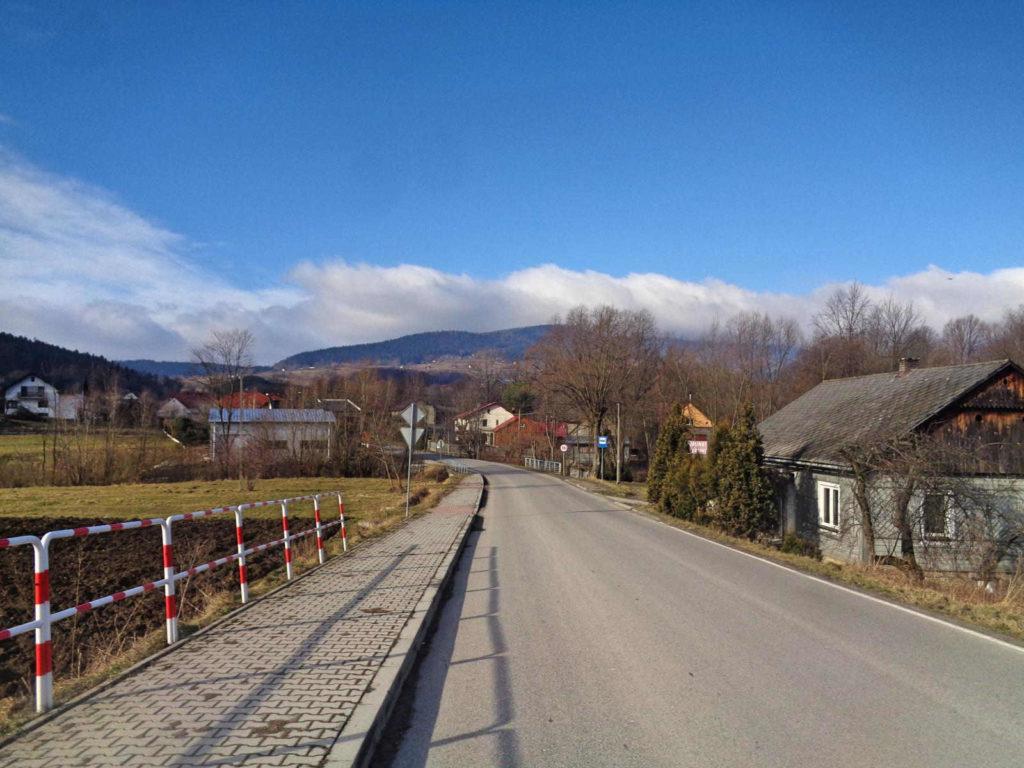 Wiśniowa, szlak na Lubomir