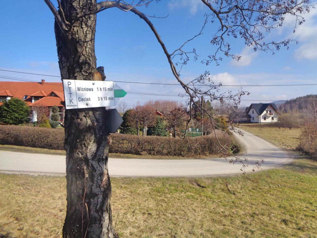 Zielony szlak do Wiśniowej
