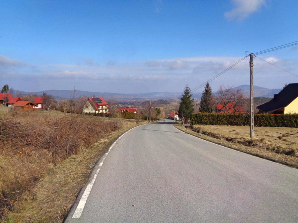Zielony szlak Lubomir - Wiśniowa
