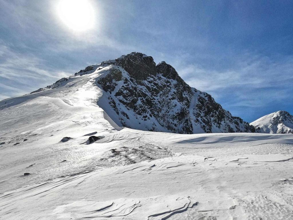 Jamnicka Przełęcz w zimie