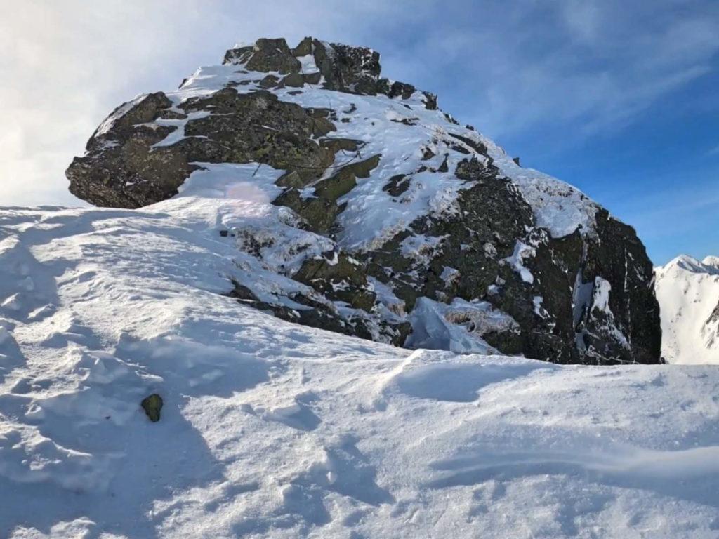 Ostry Rohacz, wejście zimowe