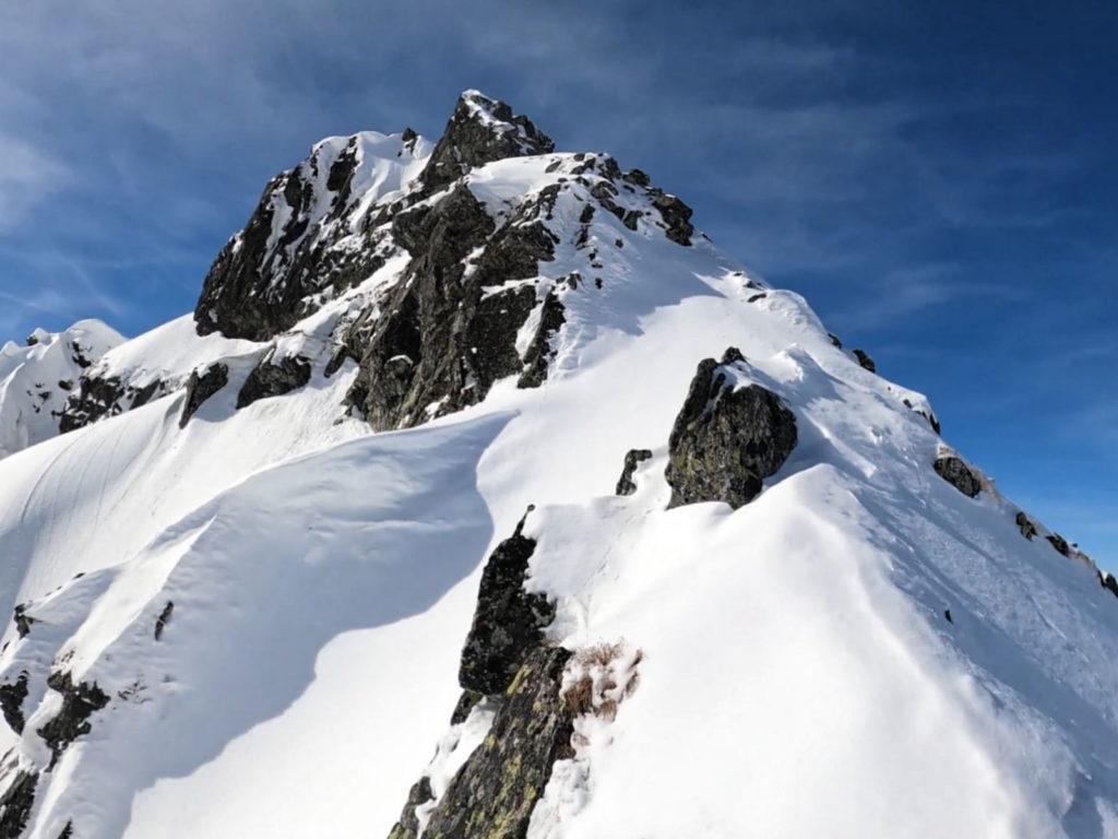 Rohacz Ostry, wejście zimą