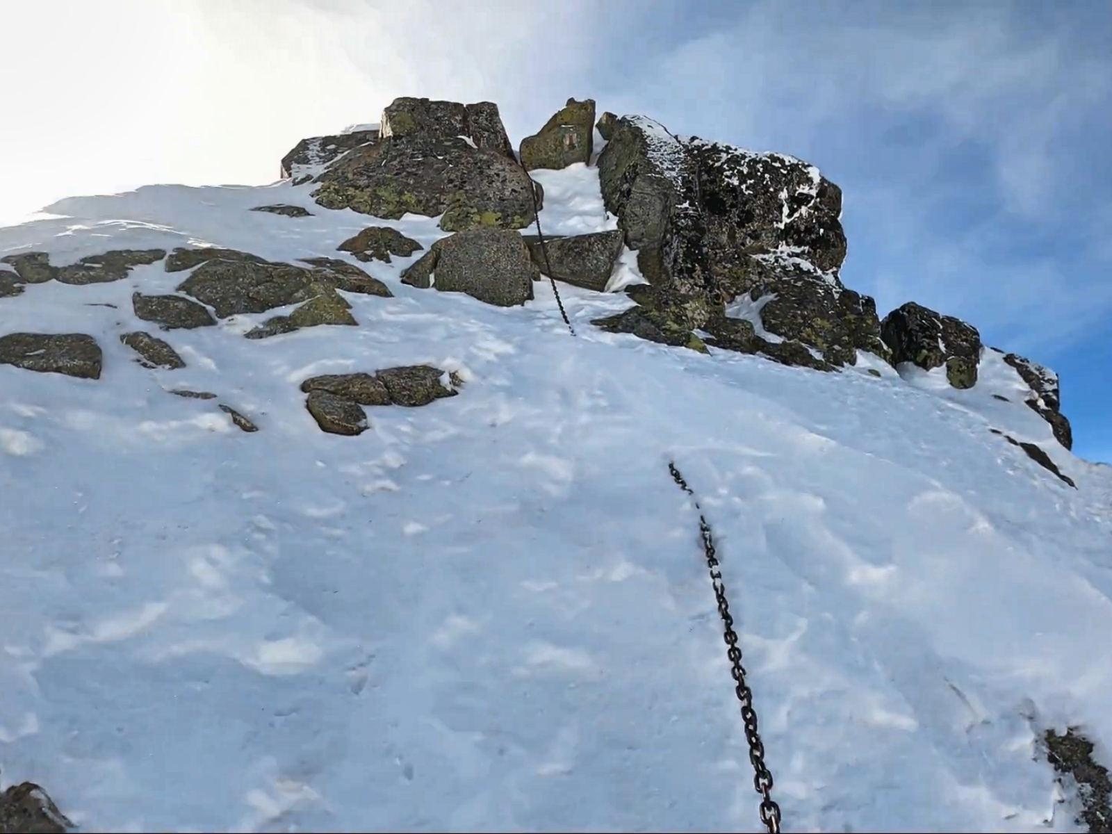Rohacz Ostry, wejście zimowe
