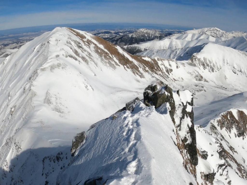 Rohacz Ostry, widoki ze szczytu