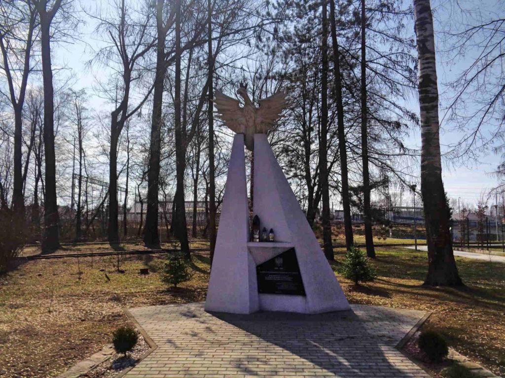 Puszcza Niepołomicka, Pomnik Odrodzenia Państwa Polskiego