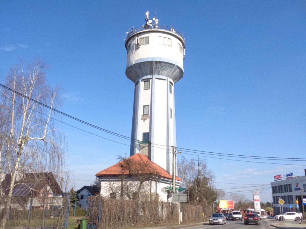 Kraków, wieża ciśnień