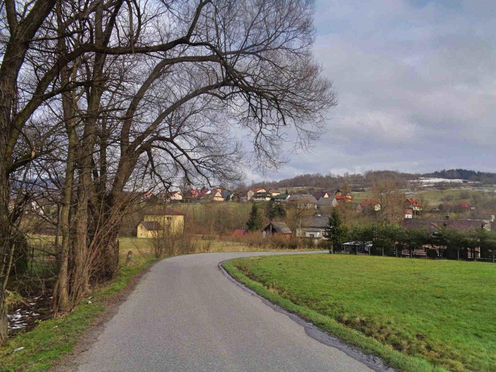 Krzeszów, szlak zielony
