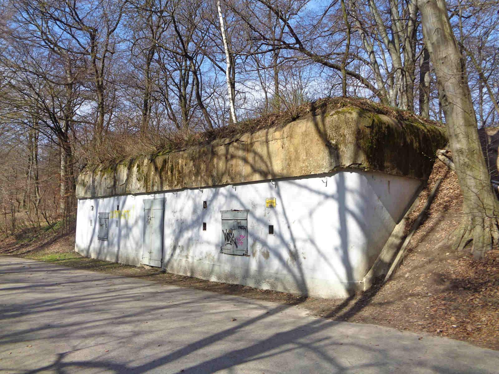Las Wolski, schron amunicyjny