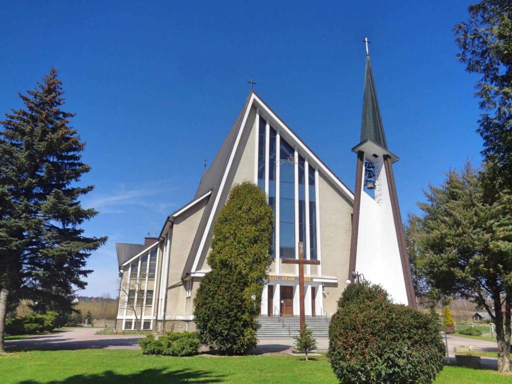 Łapanów, kościół