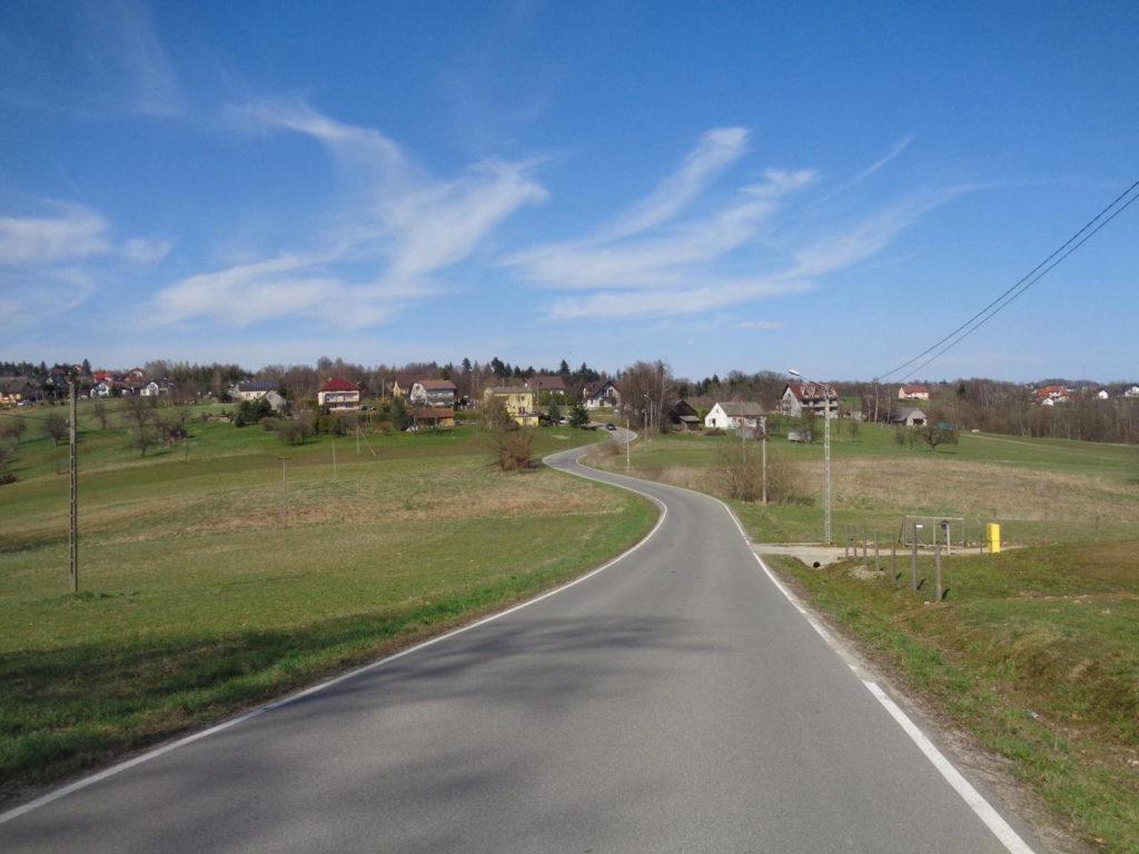 Pogórze Wielickie rowerem