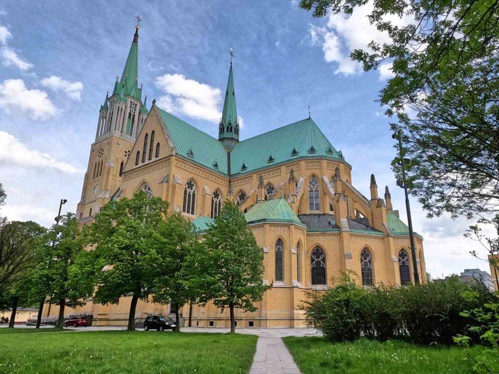Łódź, katedra