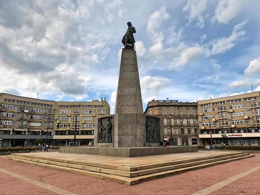Łódź, Plac Wolności