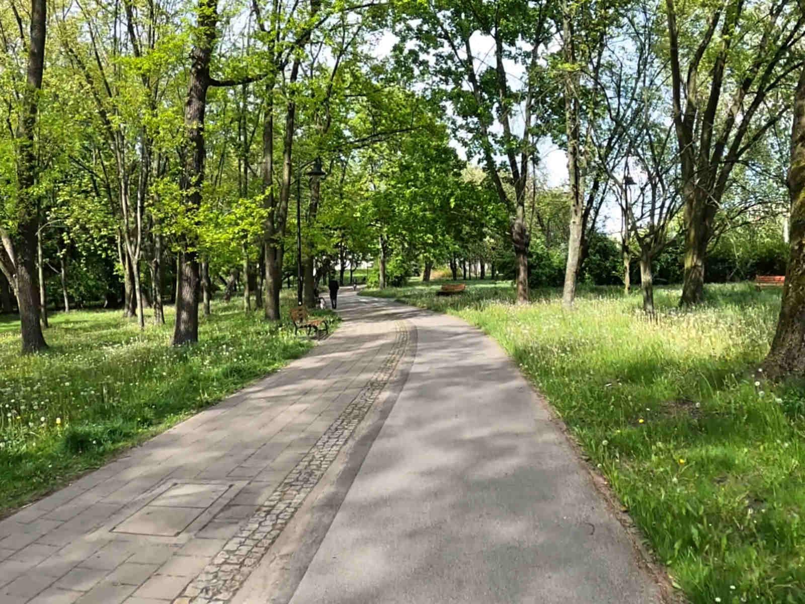 Łódź, ścieżki rowerowe