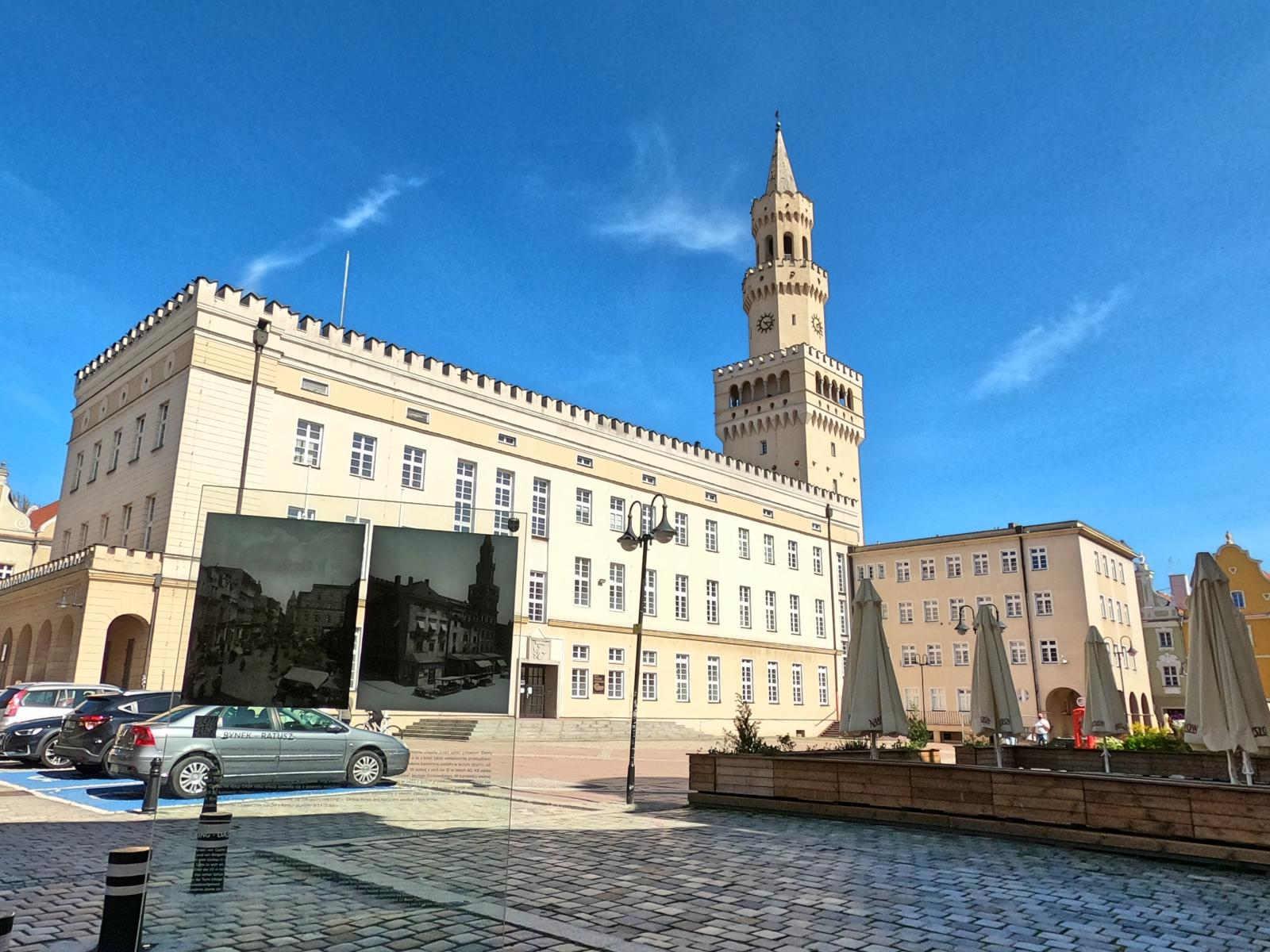 Opole, rynek główny