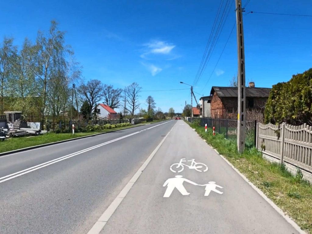 Zawadzkie, ścieżka rowerowa