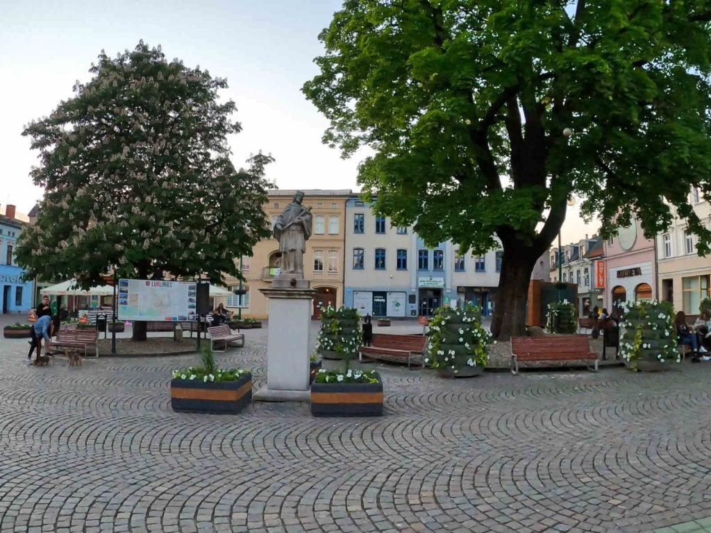 Lubliniec, rynek