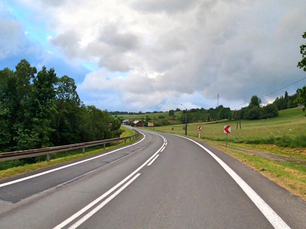 Droga Lesko - Ustrzyki