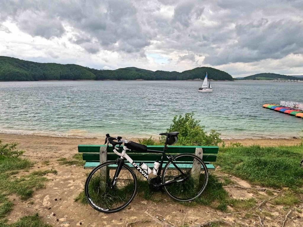 Jezioro Solińskie rowerem