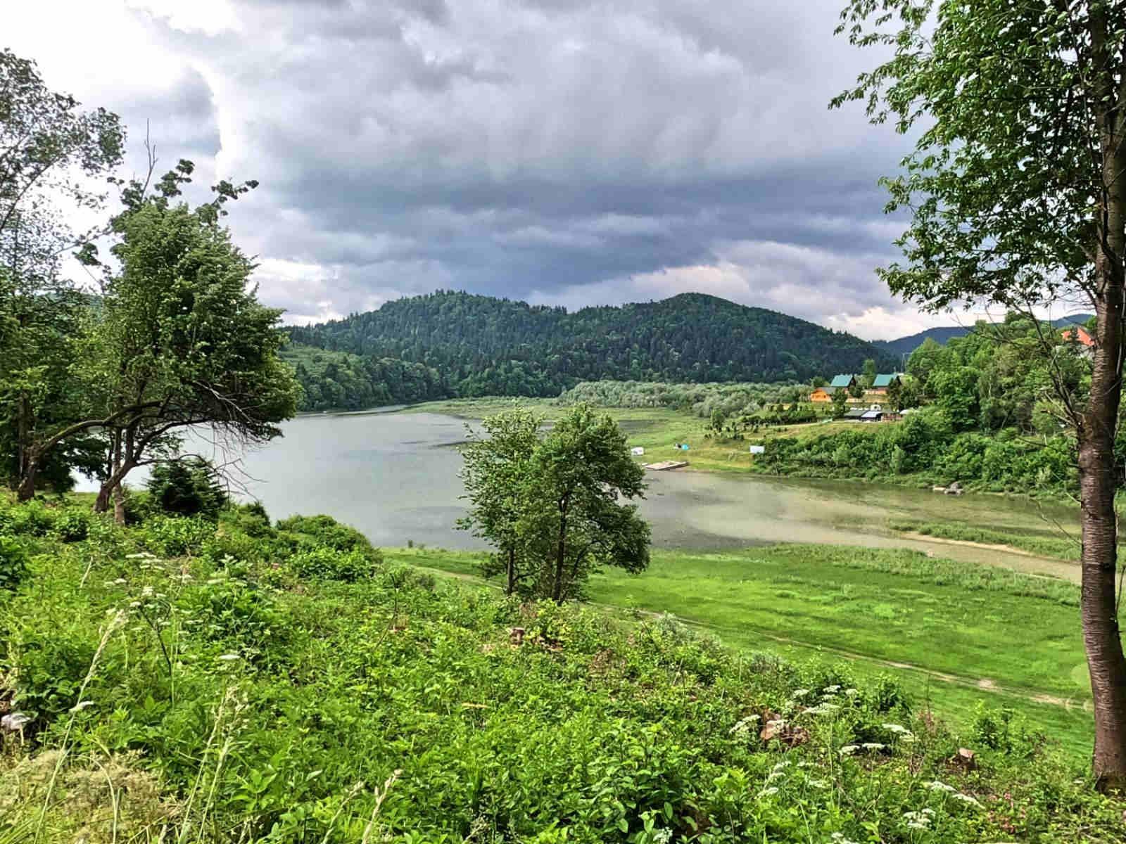 Mała Pętla Bieszczadzka, Jezioro Solińskie