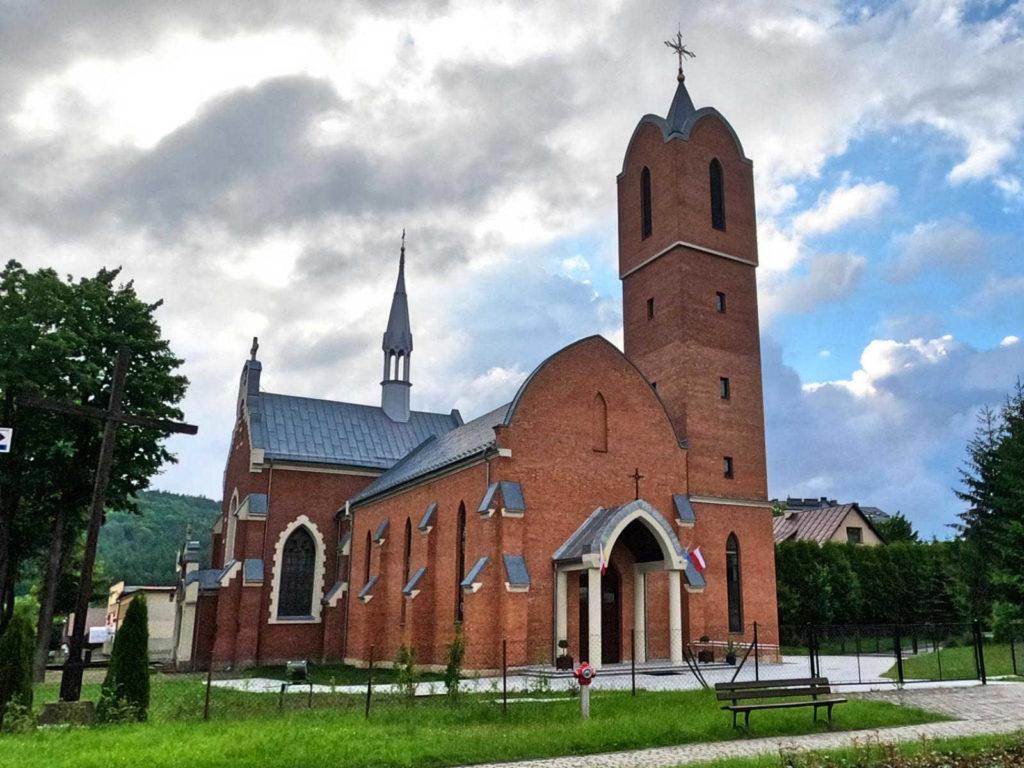 Ustrzyki Dolne, kościół