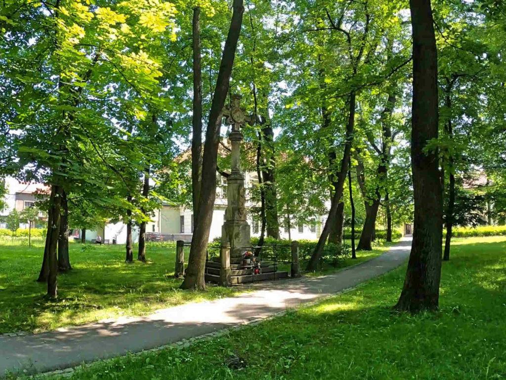 Krzeszowice, Park Zdrojowy