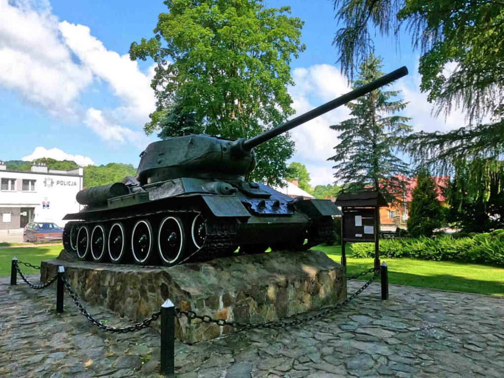 Baligród, czołg