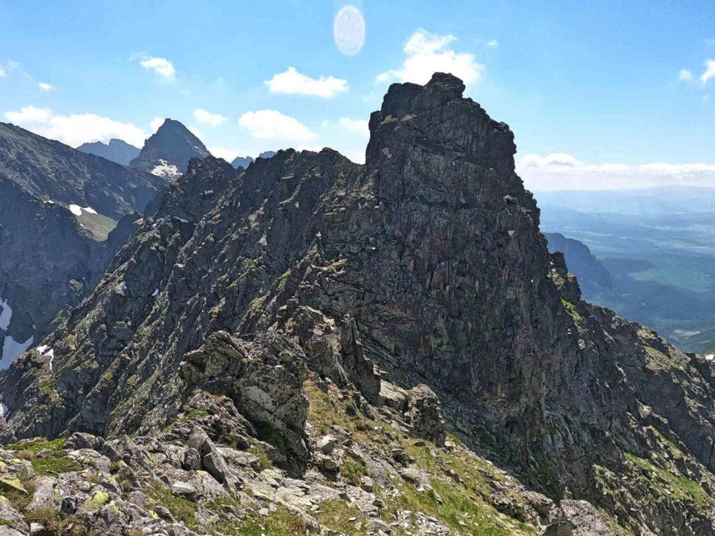 Czarnostawiańska Przełęcz i Hińczowa Turnia