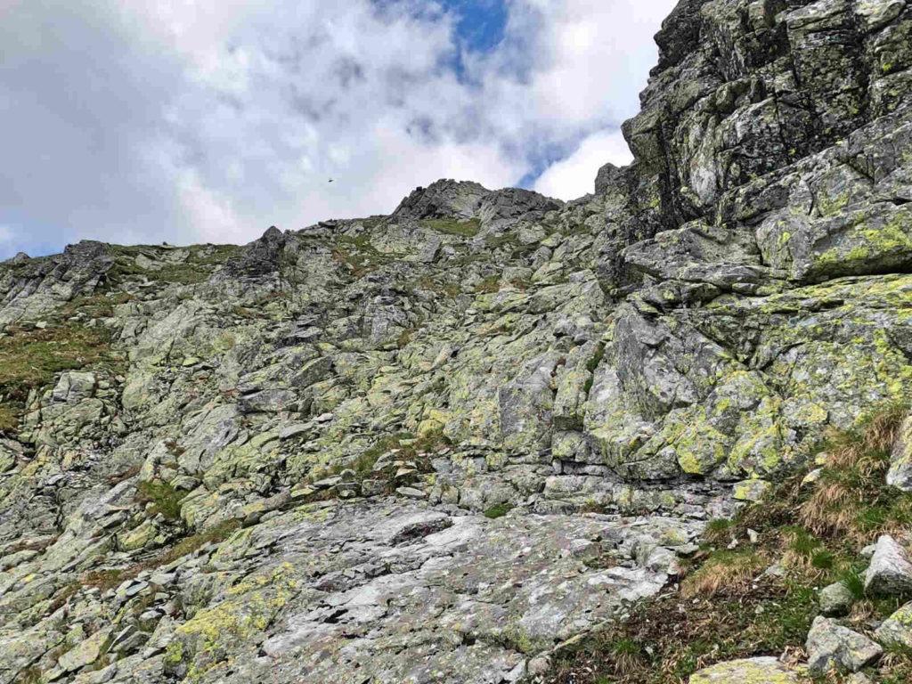 Wejście na Czarnostawiańska Przełęcz