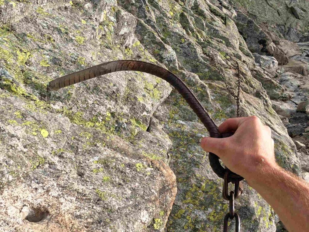 Łomnica, stare łańcuchy