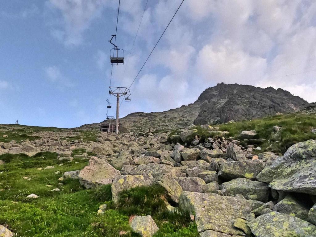 Wyciąg na Łomnicką Przełęcz