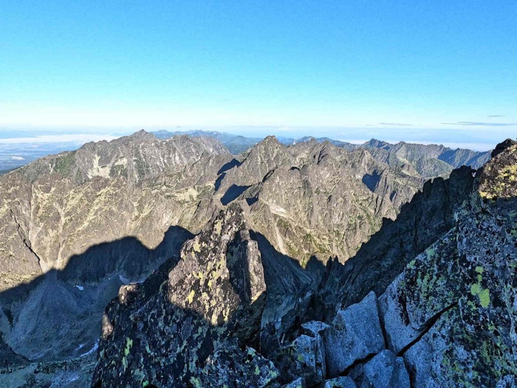 Gerlach, widoki ze szczytu